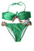 NEW Stylish Women's Swimwear Medium Green / Animal Print