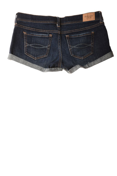 USED Abercrombie & Fitch Women's Shorts 0 Blue