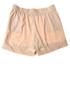NEW 7Th Avenue Women's Shorts 10 Tan / Polka Dot
