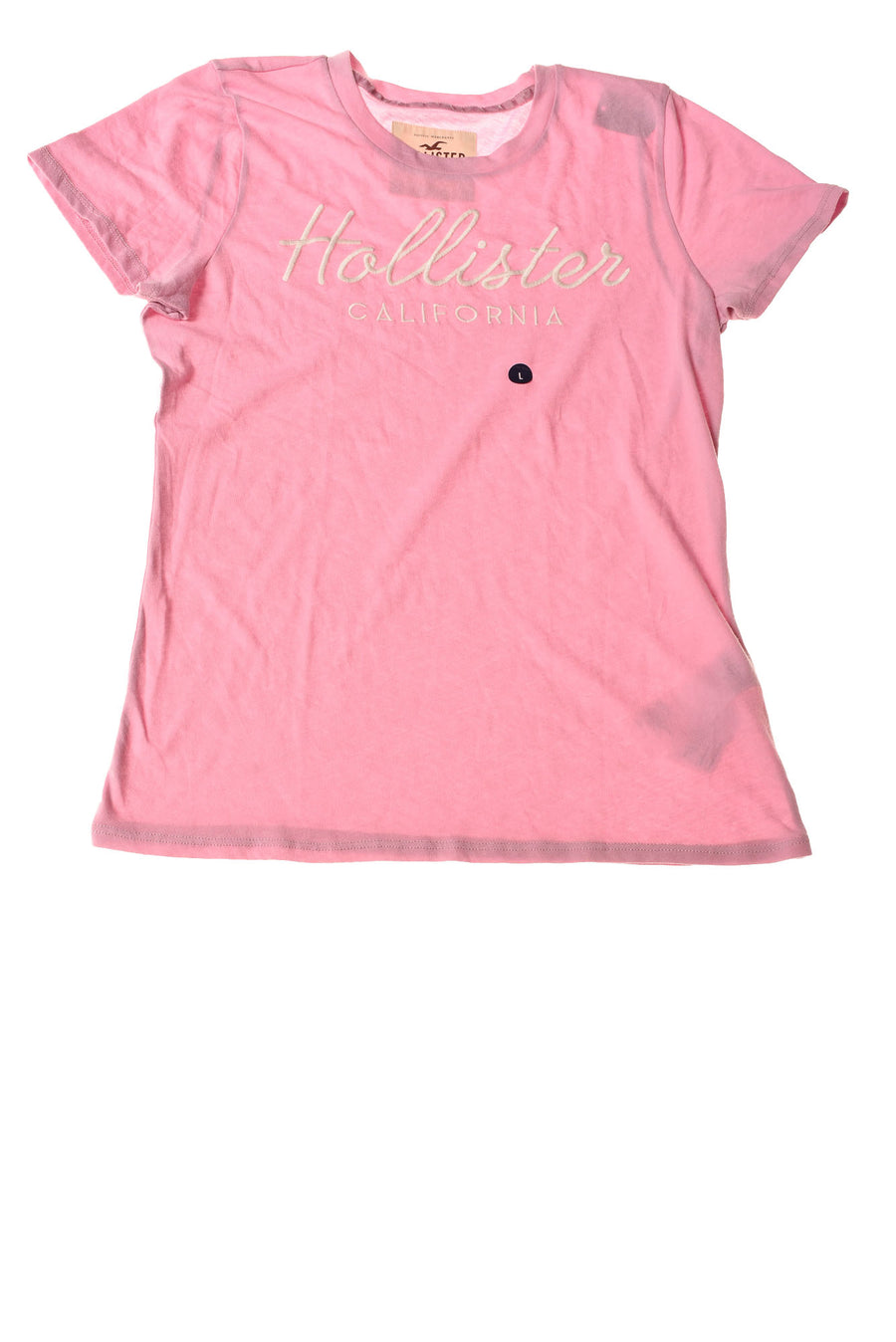 f4d6a83a752 USED Hollister Women s Top Large Pink   Print