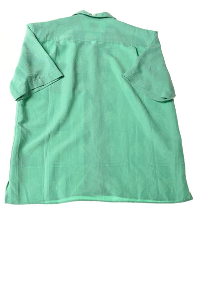USED Jos. A. Bank Men's Shirt Large Green