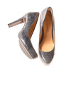 USED Circa Joan & David Luxe Women's Shoes 6.5 Snake Print / Blue