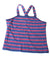 NEW The Children's Place Girl's Top X-Large Blue / Striped