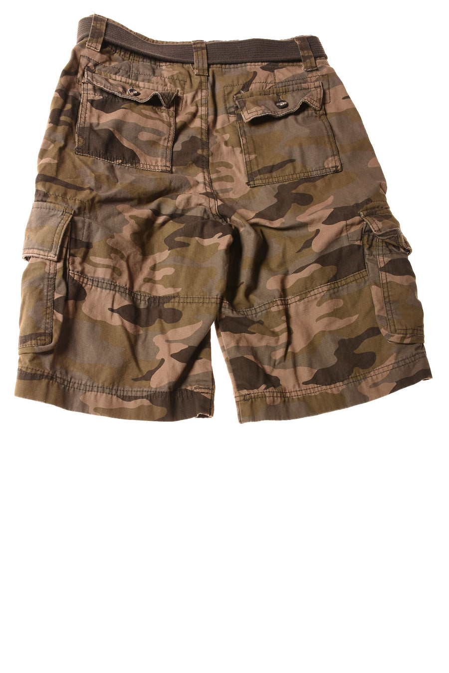 USED Mossimo Supply Co. Men's Shorts  28 Green / Camo Print