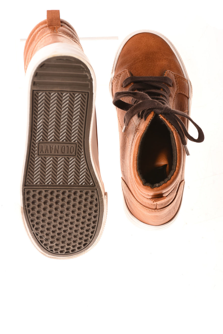 USED Old Navy Boy's Shoes  2 Brown