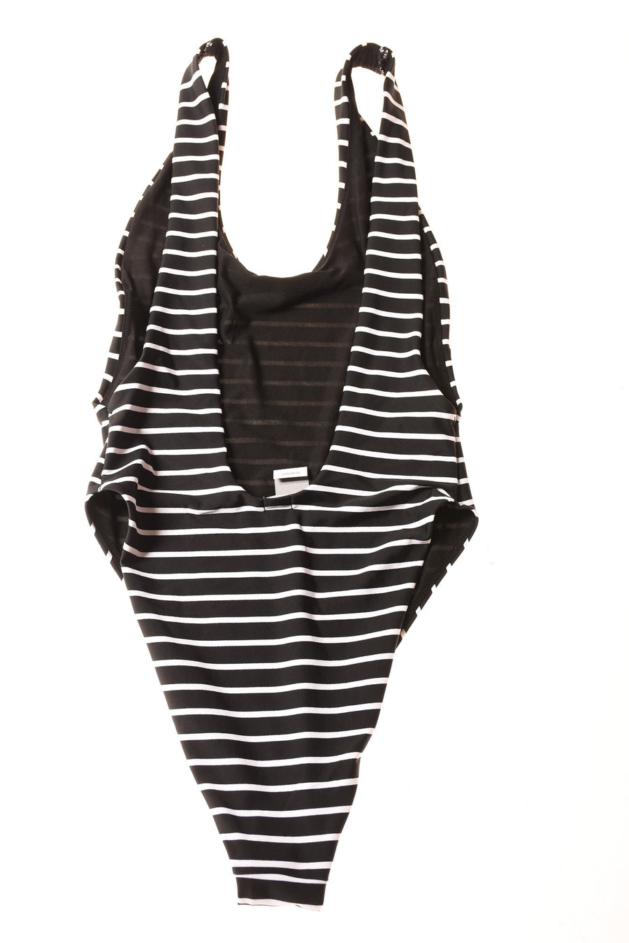 NEW Aerie Women's Swimwear Small Black & White / Stripe