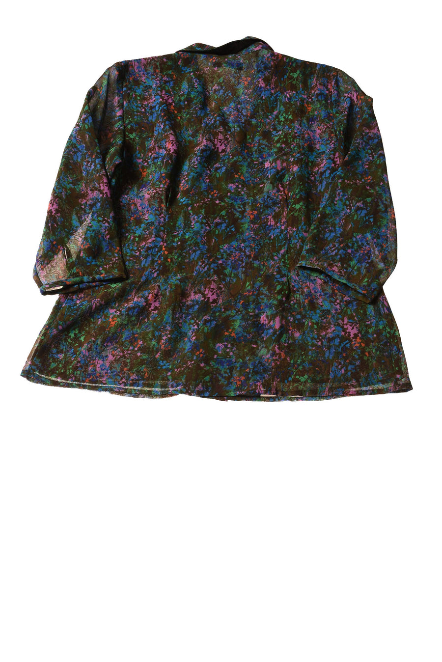 NEW Coldwater Creek Women's Top Small Multi-Color / Print