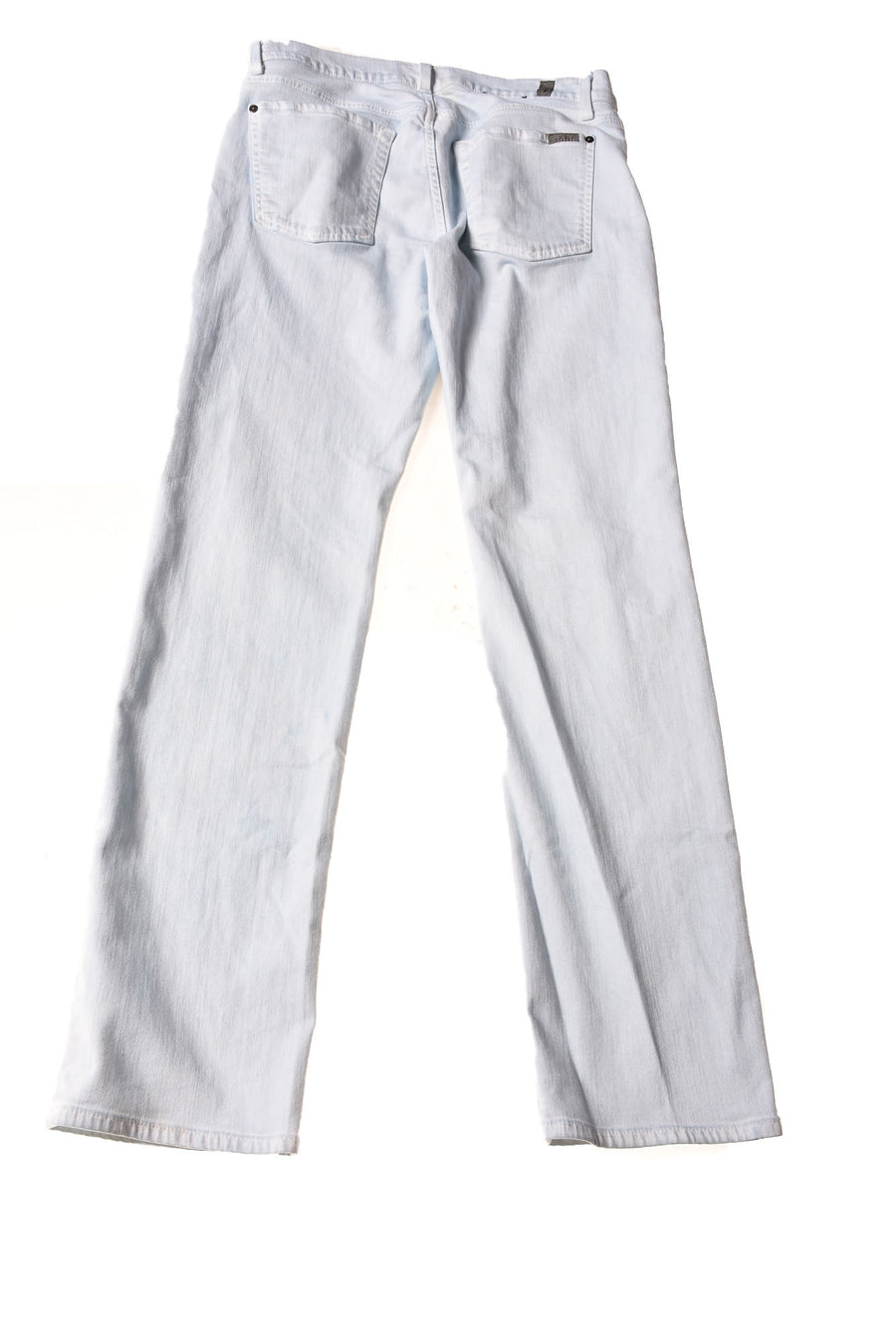 USED 7 For All ManKind Women's Jeans W31 Light Blue