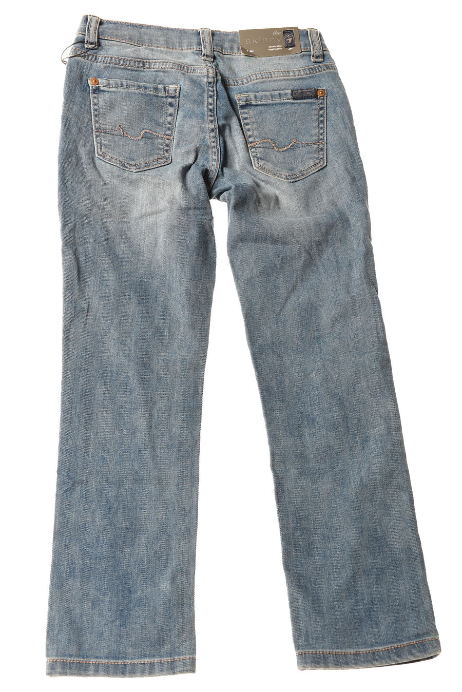 NEW For All Mankind Girl's Jeans 7 Blue
