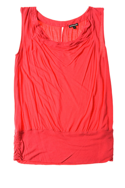 USED Express Women's Top Small Pink