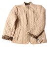 NEW Charter Club Women's Petite Coat Small Tan / Animal