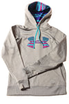 USED Under Armour Girl's Shirt Small Gray