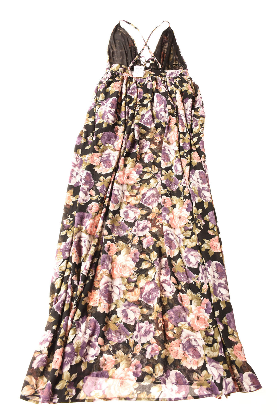 NEW Windsor Women's Dress Small Black / Floral