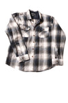 USED RVCA Men's Shirt Medium Blue / Plaid
