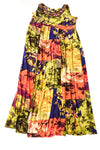 NEW New Directions Women's Dress 1X Multi-Color / Floral Print