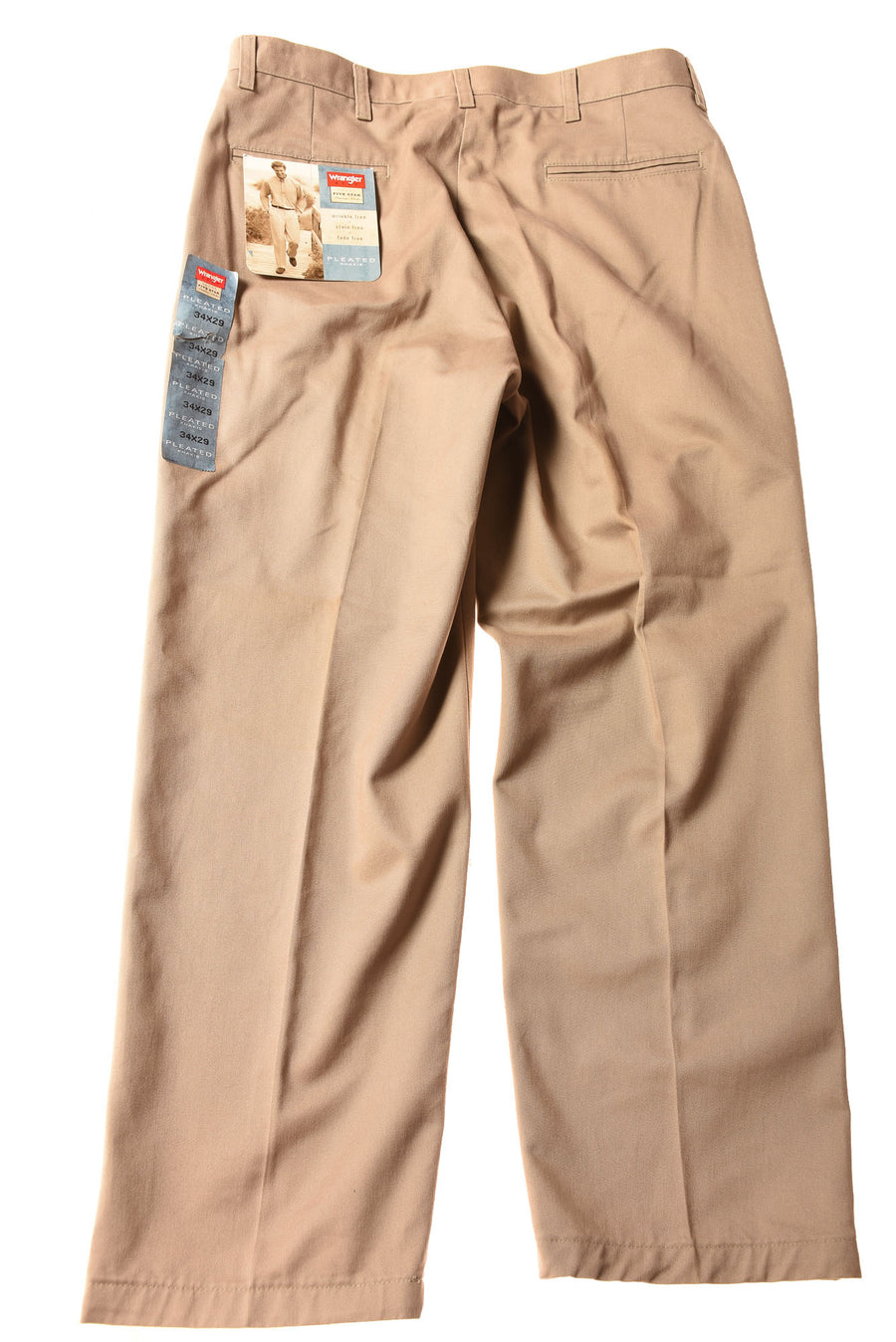 NEW Wrangler Men's Slacks 34x29 Brown
