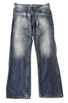 USED Ring Of Fire Men's Jeans 32x30 Blue