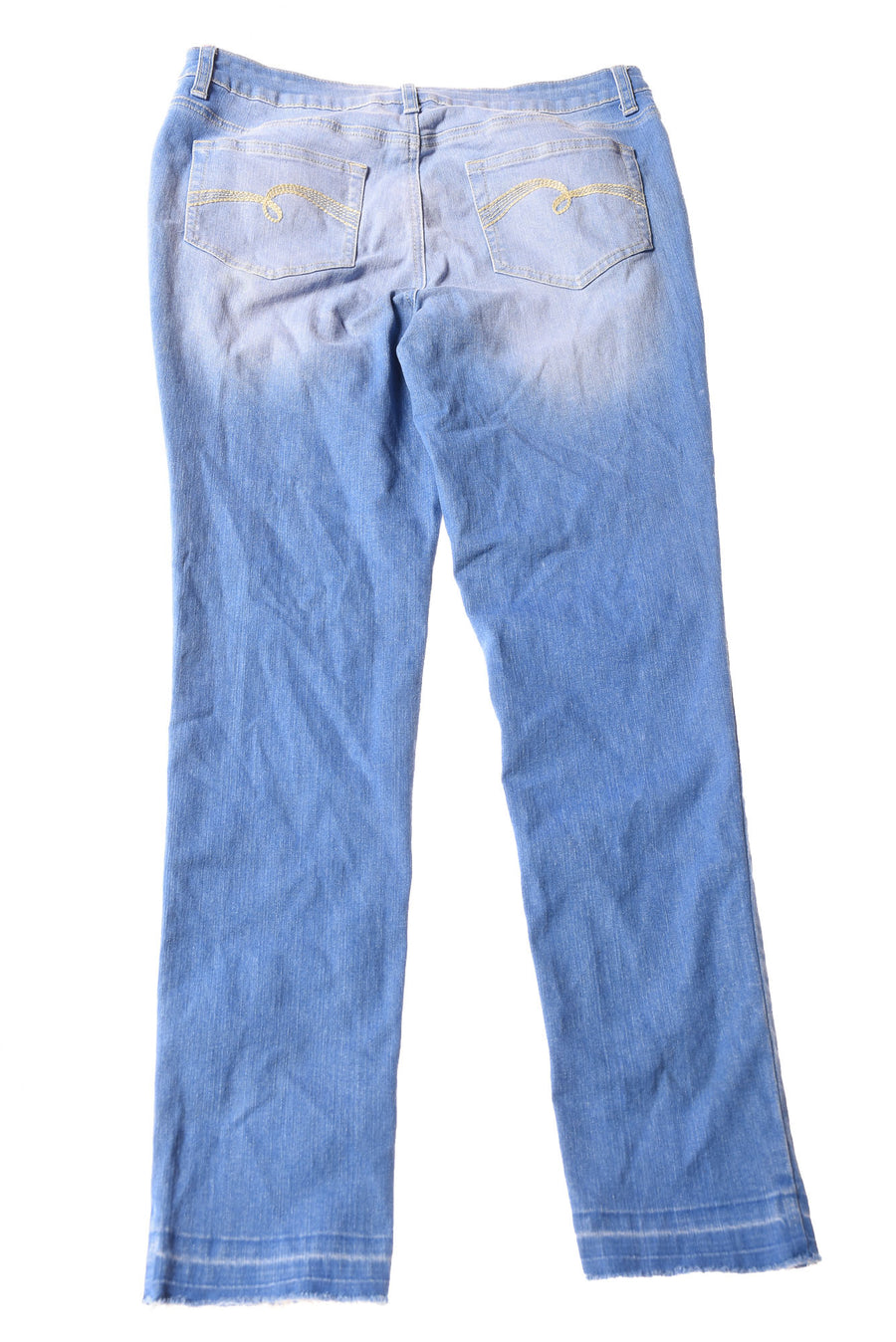 USED Justice Girl's Jeans 16 Blue