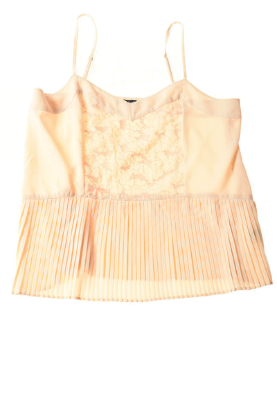 USED American Eagle Women's Top Medium Ivory
