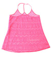 USED Pink By Victoria Secret Women's Top Small Pink