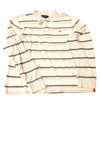 NEW American Eagle Outfitters Men's Shirt X-Large Ivory / Striped