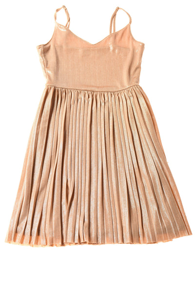 USED Hollister Women's Dress X-Small Gold