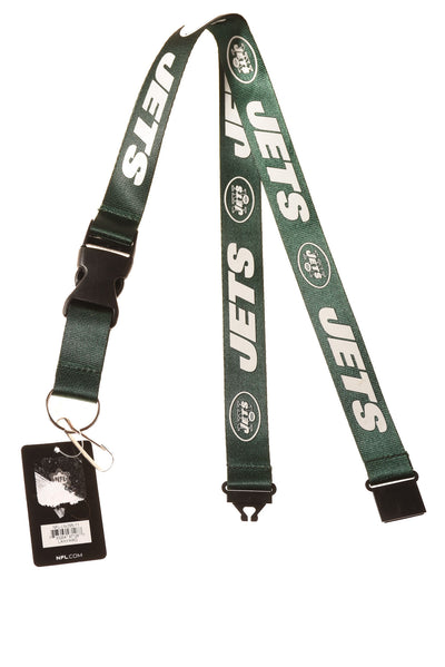NEW Columbia New York Jets Lanyard One Size Green