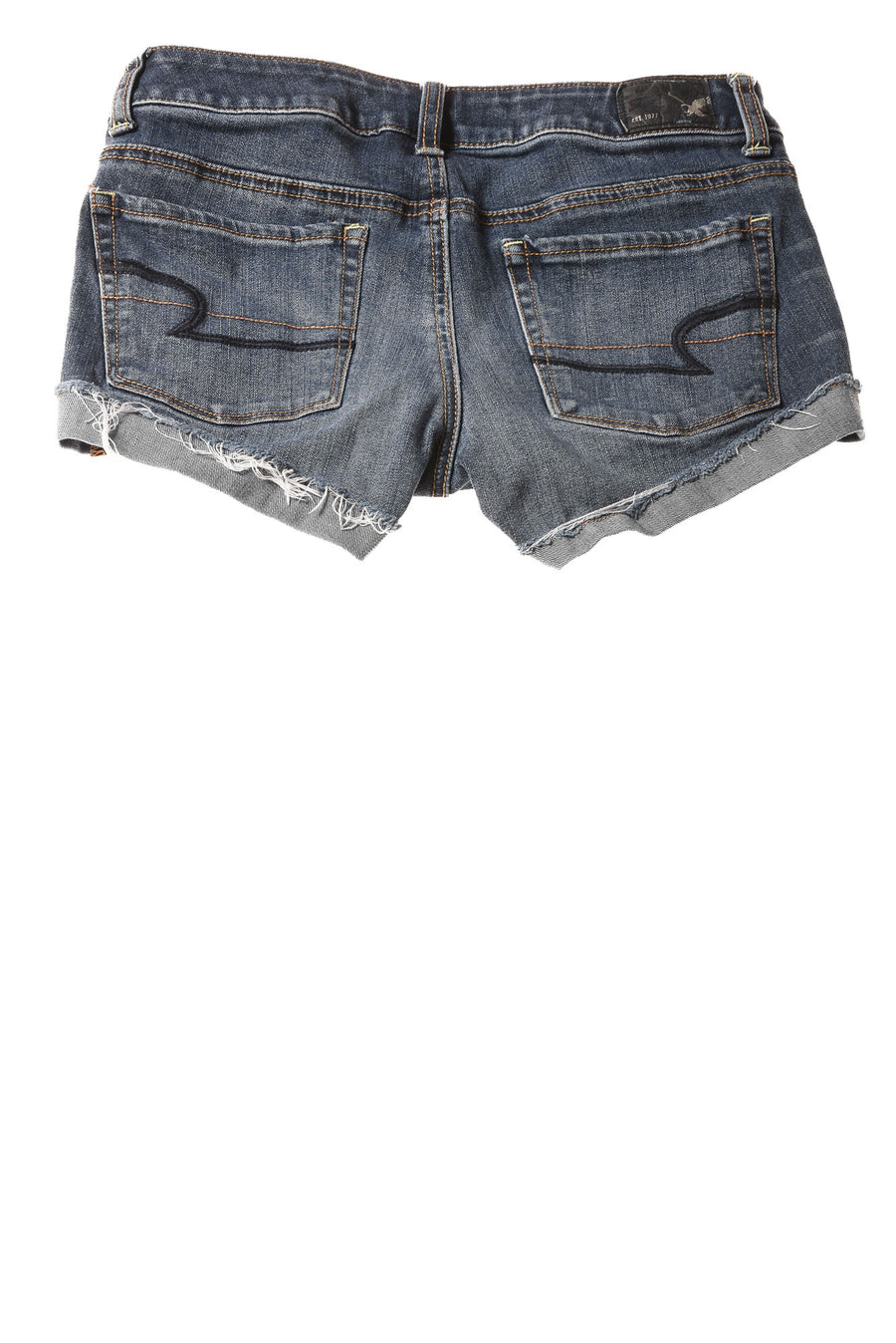 USED American Eagle Women's Shorts 2 Blue