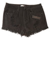 NEW Refuge Women's Shorts 0 Black
