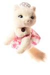 USED Mattel Barbie Kitty Cat N/A White