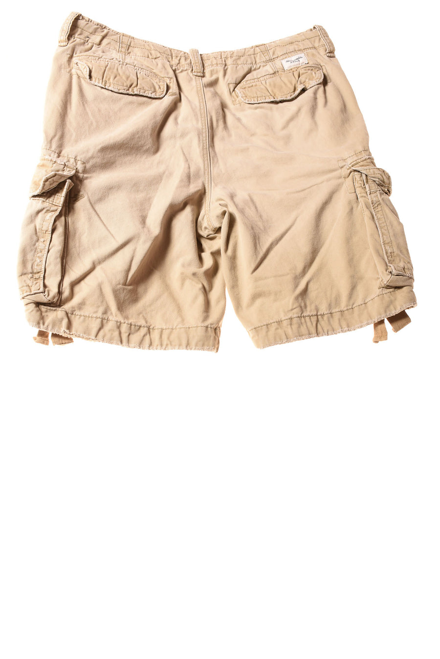 USED Abercrombie & Fitch Men's Shorts 36 Tan