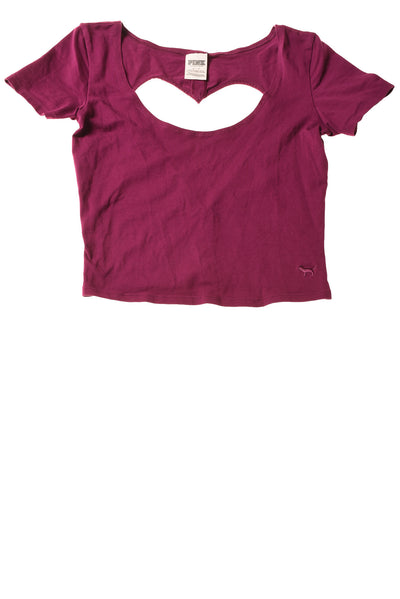 USED Pink By Victoria Secret Women's Top Small Purple