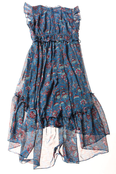 NEW Westport Women's Dress 10 Blue / Floral