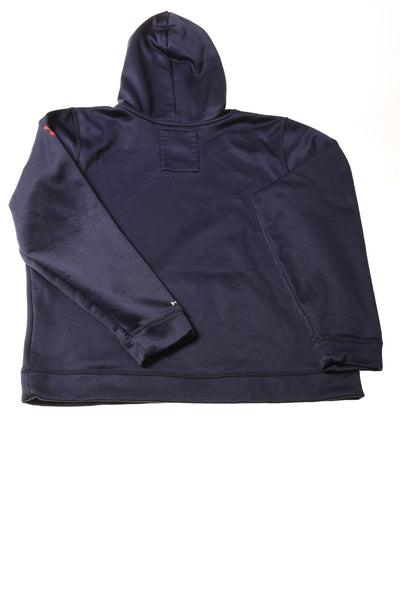 USED Under Armour Boy's Coat X-Large Navy Blue / Print
