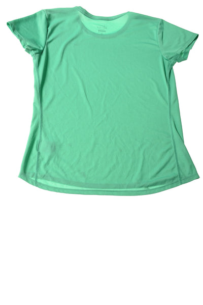 USED Nike Women's Top Large Aqua
