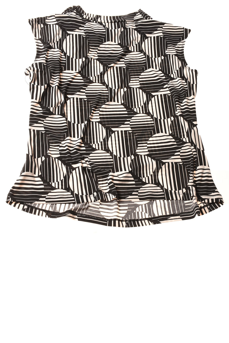 NEW Worthington Women's Top 1X Black & White / Print