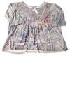 NEW Avenue Women's Top 22/24 Multi-Color / Floral Print