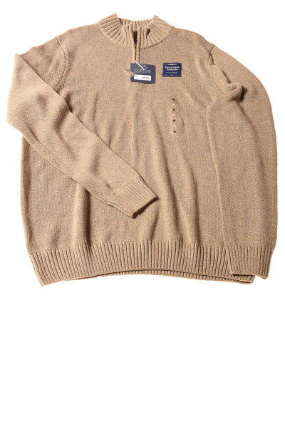 NEW Croft & Barrow Men's Sweater X-Large Brown