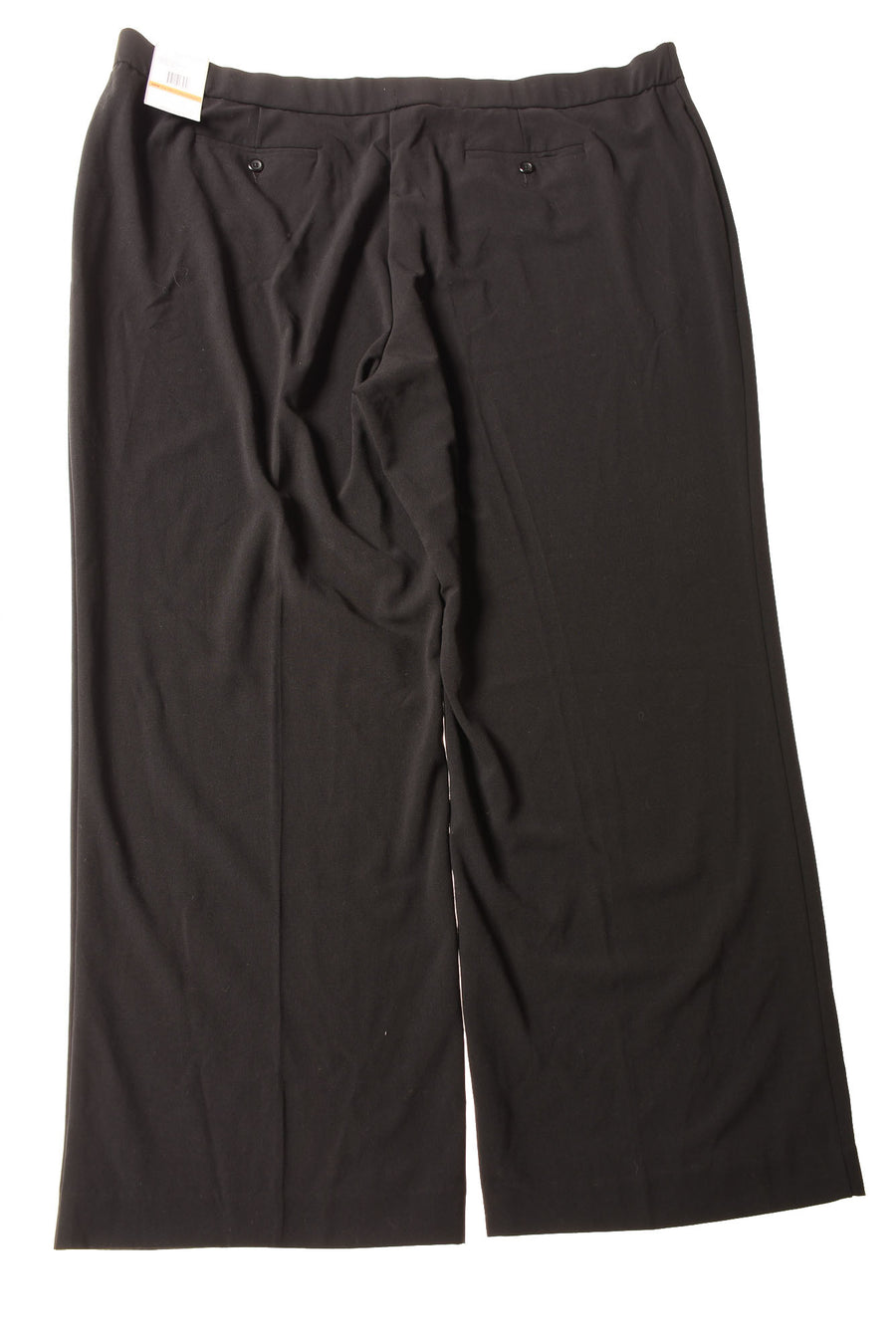 NEW Sag Harbor Women's Slacks 24 Black