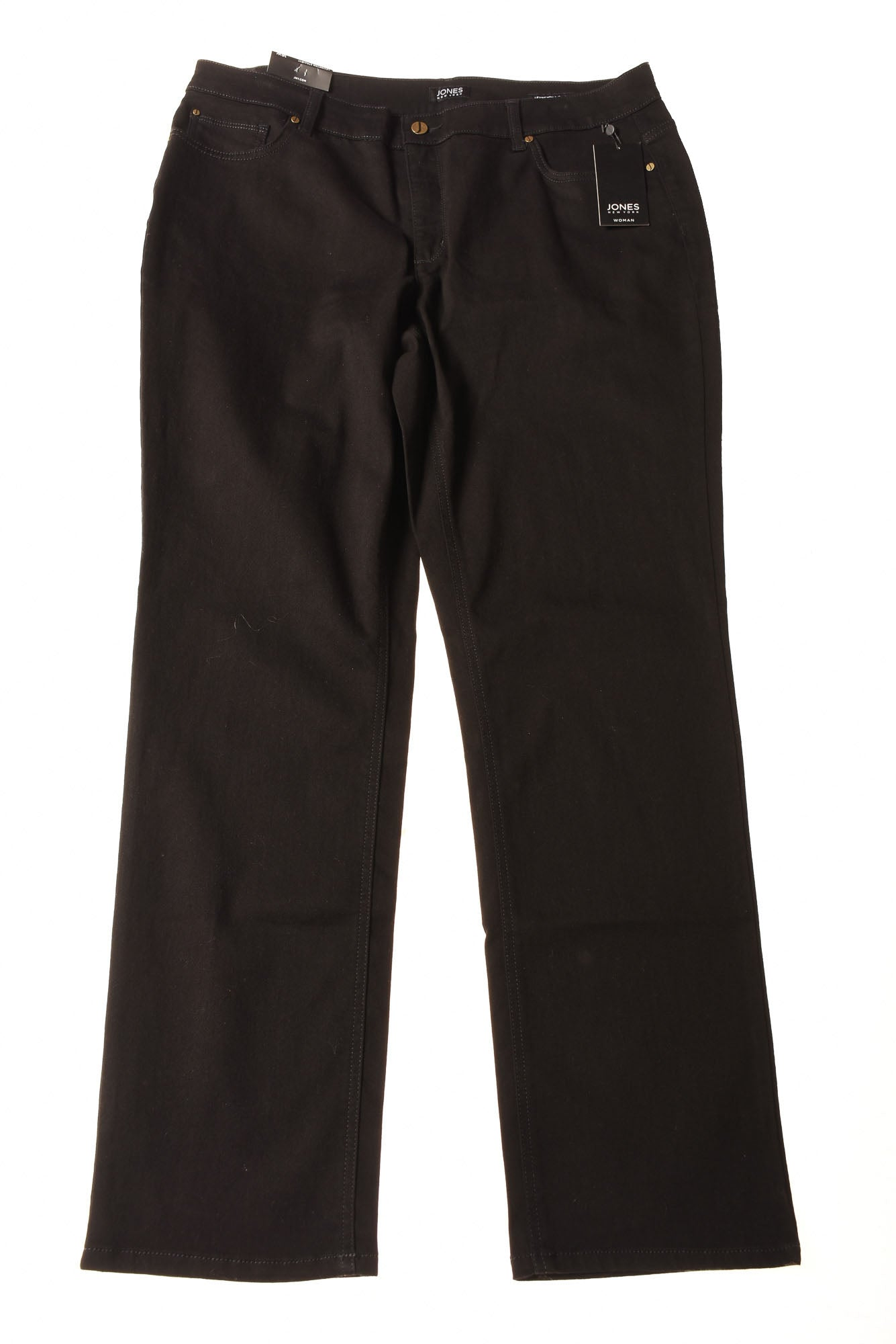 7ffb8154f2511 NEW Jones New York Women s Jeans 16 Black - Village Discount Outlet