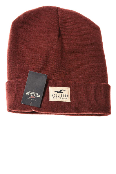 NEW Hollister Men's Hat One Size Maroon