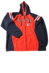 USED Reebok Men's Jacket X-Large Red & Blue