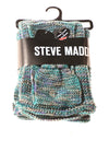NEW Steve Madden Women's Scarf By Steve Madden N/A Teal & Purple