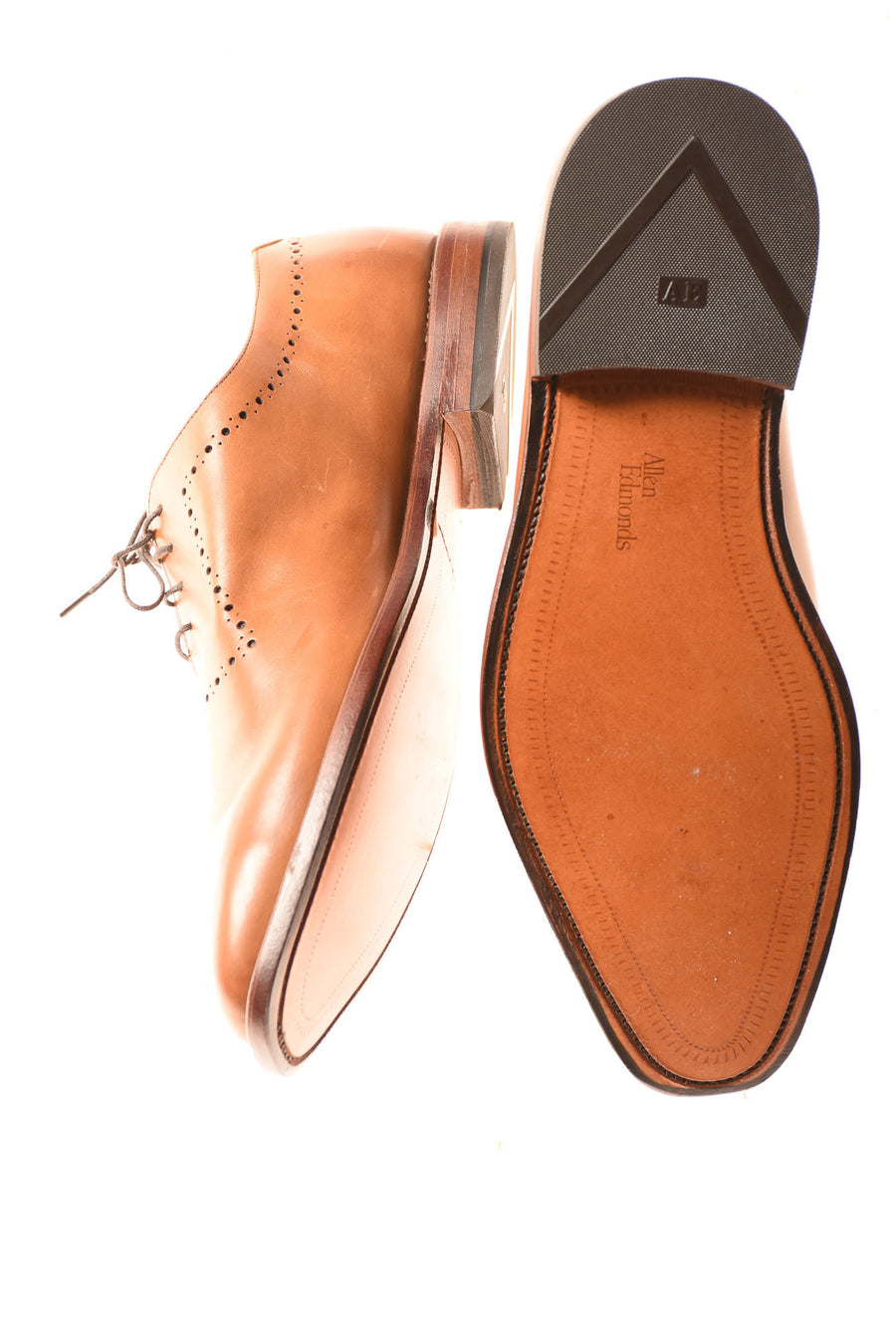 USED Allen Edmonds Men's Shoes By Allen Edmonds 11 Tan