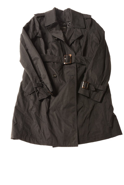 NEW Talbots Women's Coat 12 Black