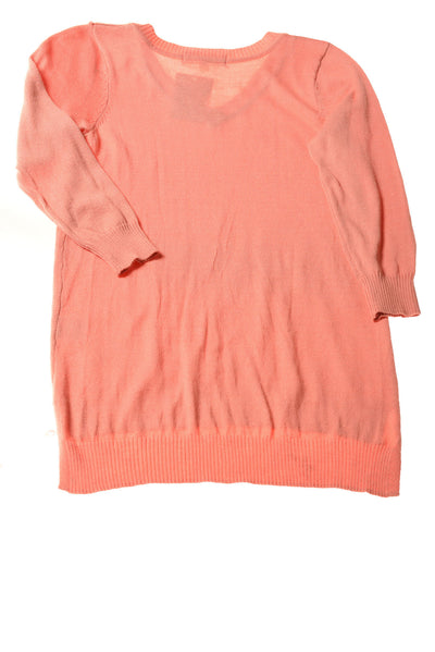 NEW Pink Republic Women's Sweater Small Peach