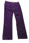 NEW Ralph Lauren Women's Petite Slacks 2 Purple