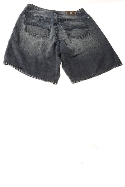 USED Azzure Men's Shorts 36 Blue