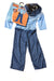 USED Disguise Toddler Boy's Costume 2T Blue
