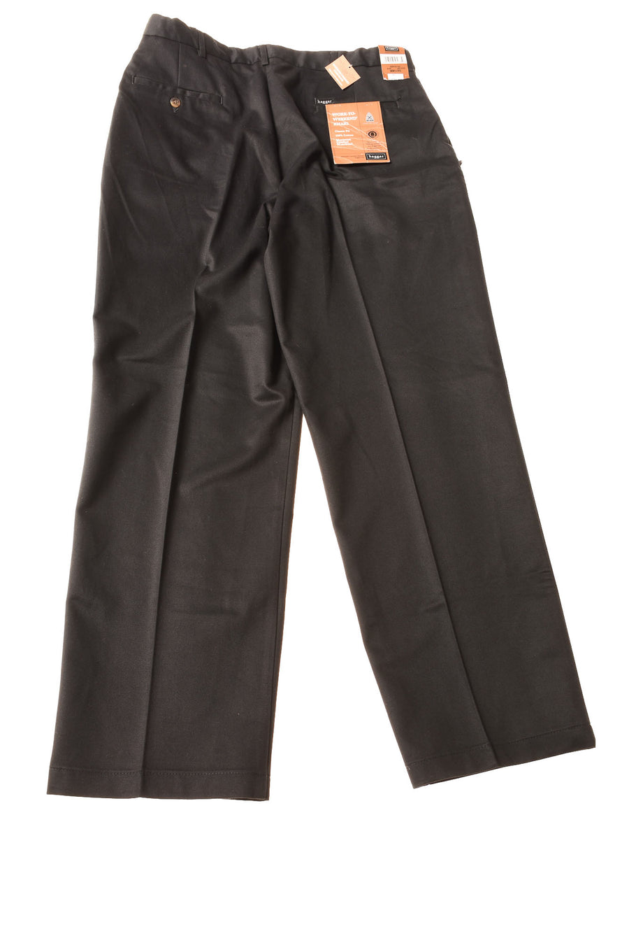 NEW Haggar Men's Slacks 36x31 Black